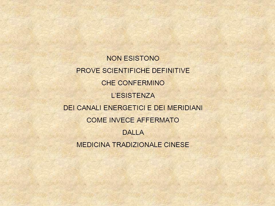 PROVE SCIENTIFICHE DEFINITIVE CHE CONFERMINO L'ESISTENZA
