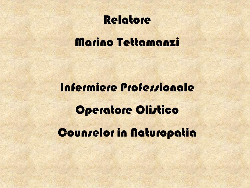 Infermiere Professionale Operatore Olistico Counselor in Naturopatia