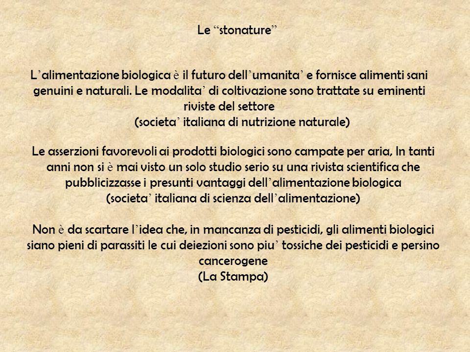 (societa' italiana di nutrizione naturale)