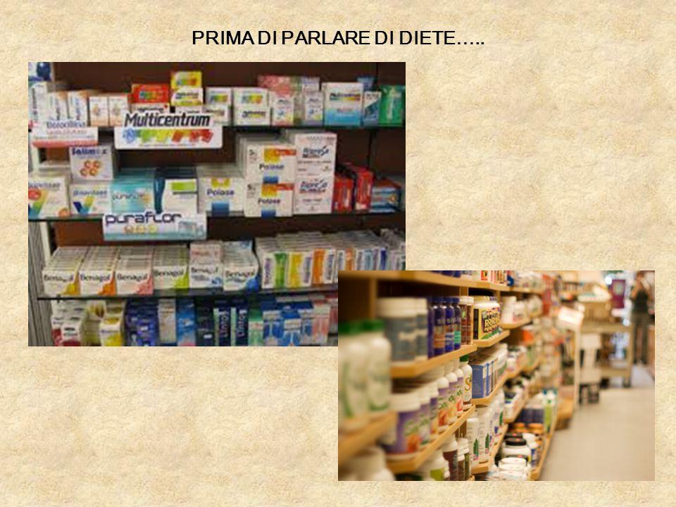 PRIMA DI PARLARE DI DIETE…..
