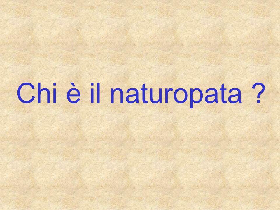 Chi è il naturopata