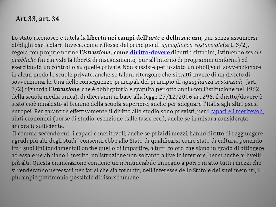Art.33, art. 34