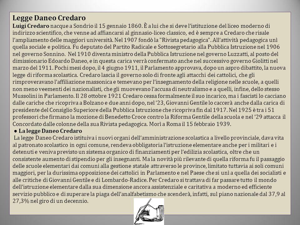 Legge Daneo Credaro