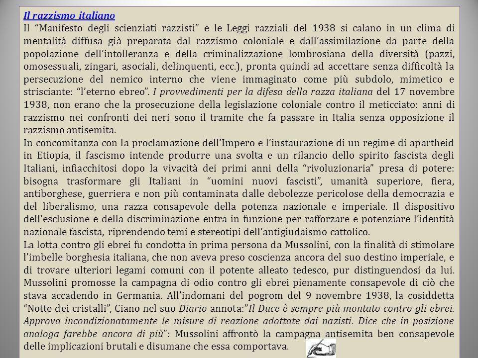 Il razzismo italiano