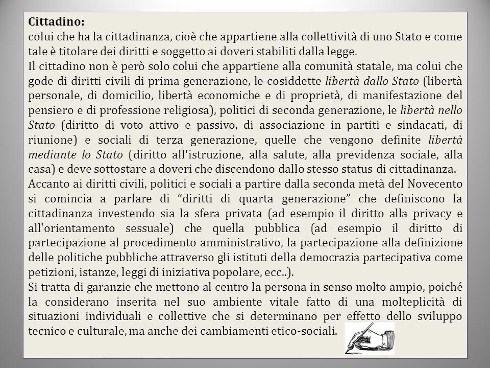 Cittadino: