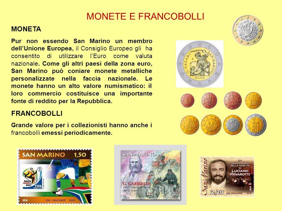 MONETE E FRANCOBOLLI MONETA FRANCOBOLLI