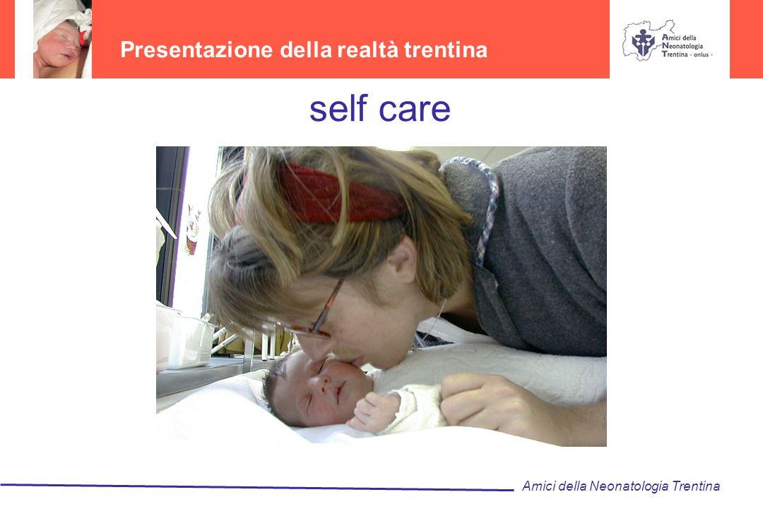 self care Presentazione della realtà trentina