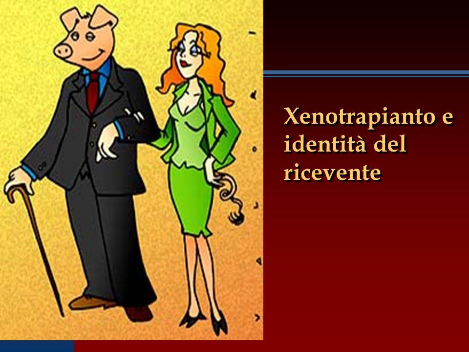 Xenotrapianto e identità del ricevente