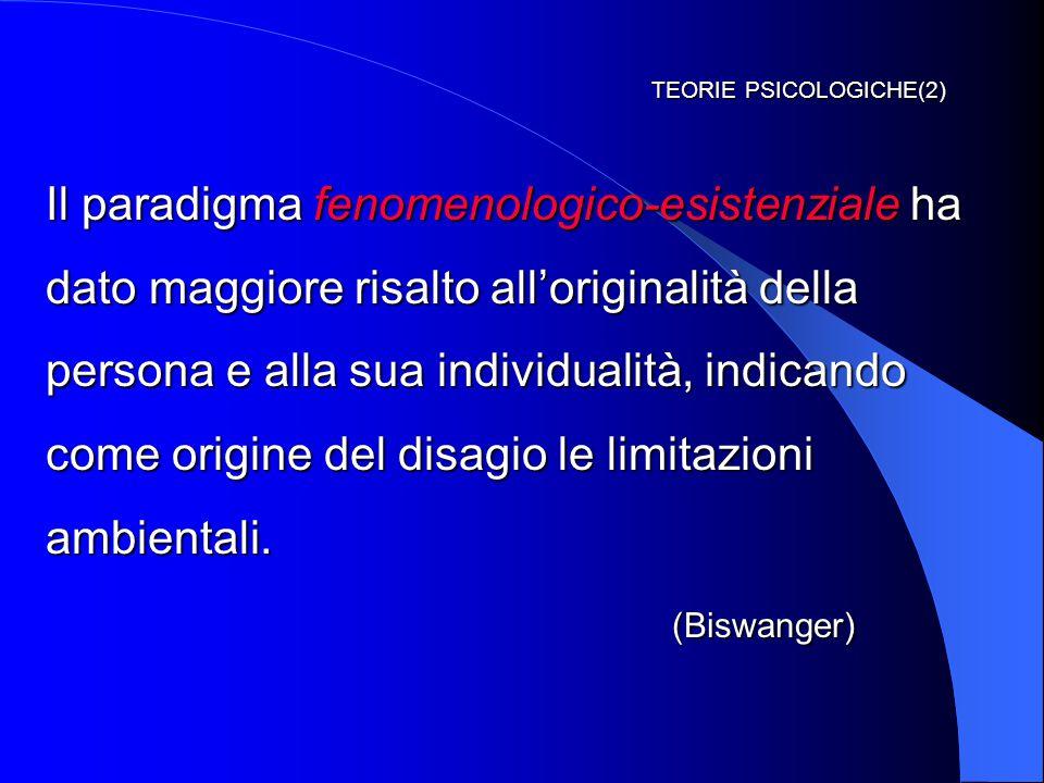 TEORIE PSICOLOGICHE(2)