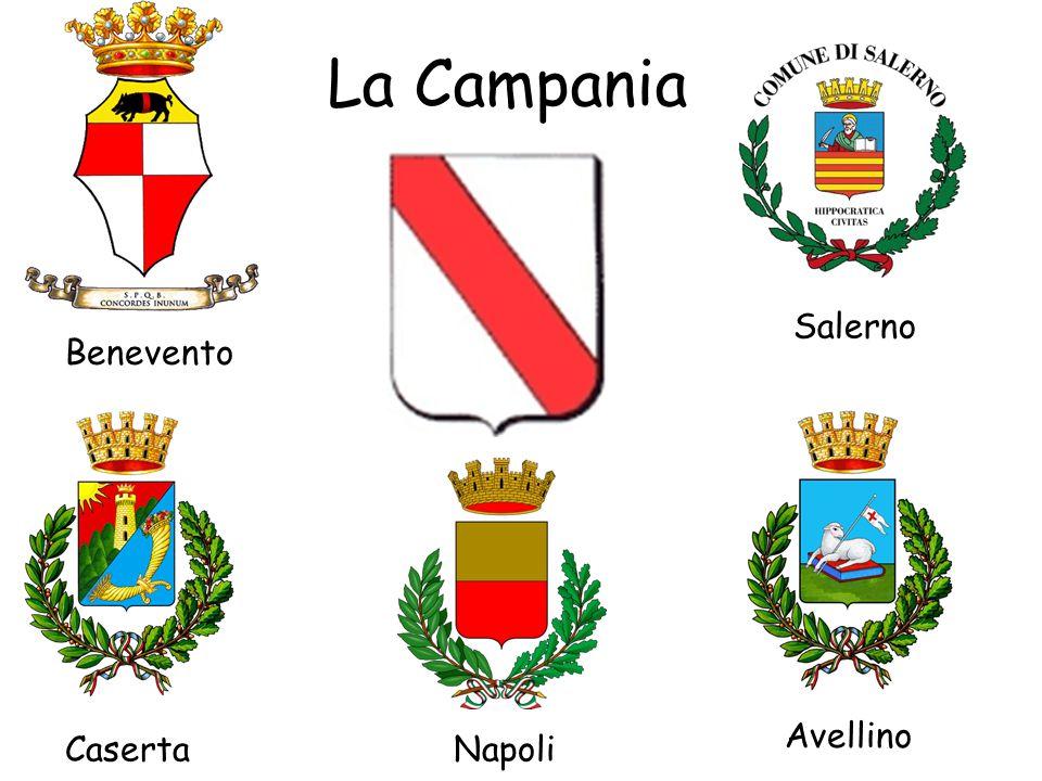 La Campania Salerno Benevento Avellino Caserta Napoli