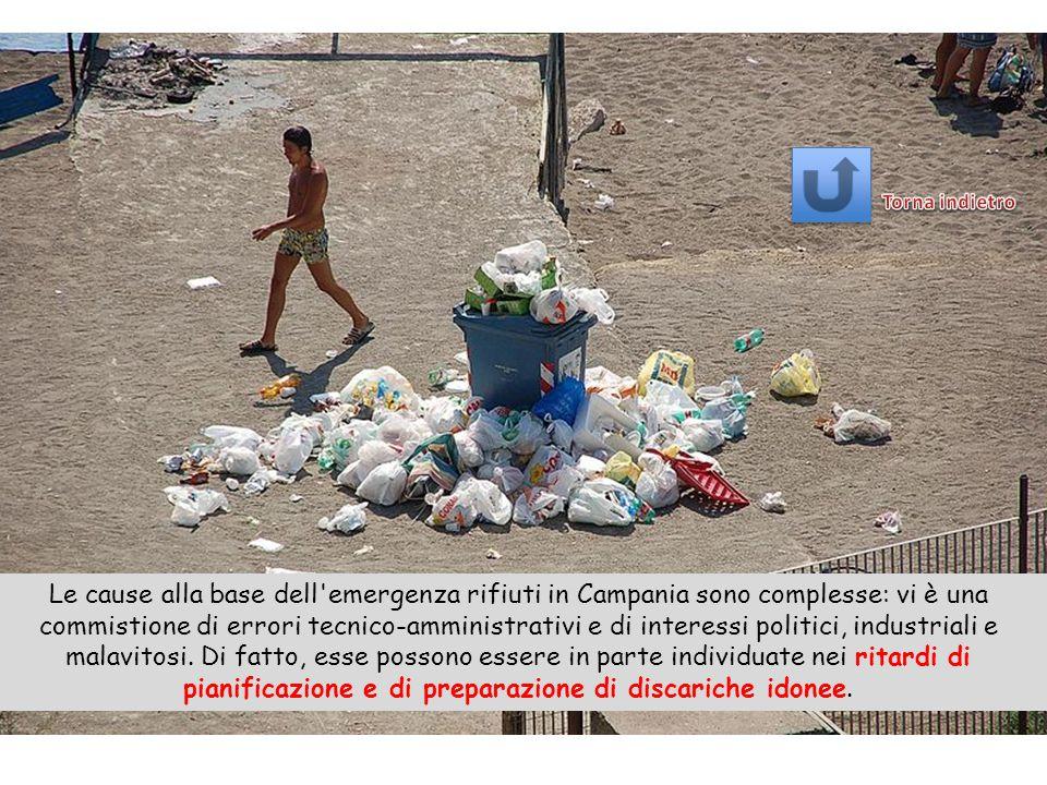 La crisi dei rifiuti in Campania è stata uno stato di emergenza relativo allo smaltimento ordinario dei rifiuti solidi urbani (RSU) verificatosi dal 1994 al 2009.