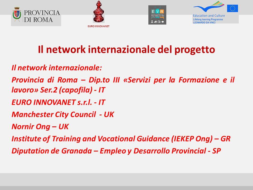 Il network internazionale del progetto