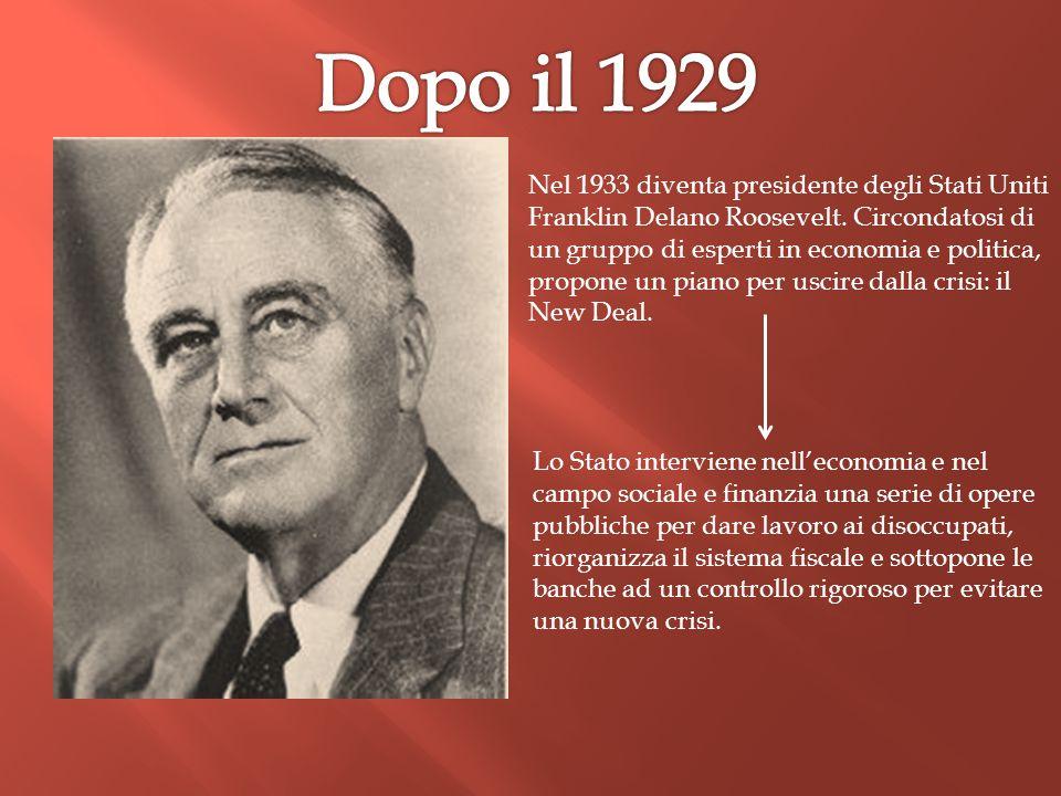 Dopo il 1929