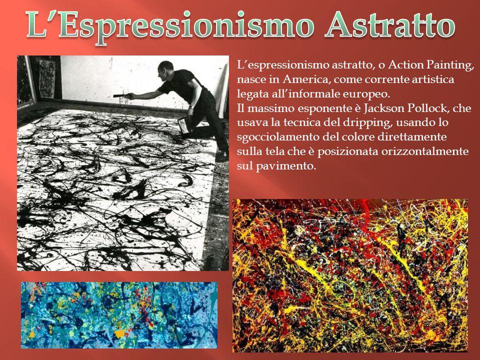 L'Espressionismo Astratto