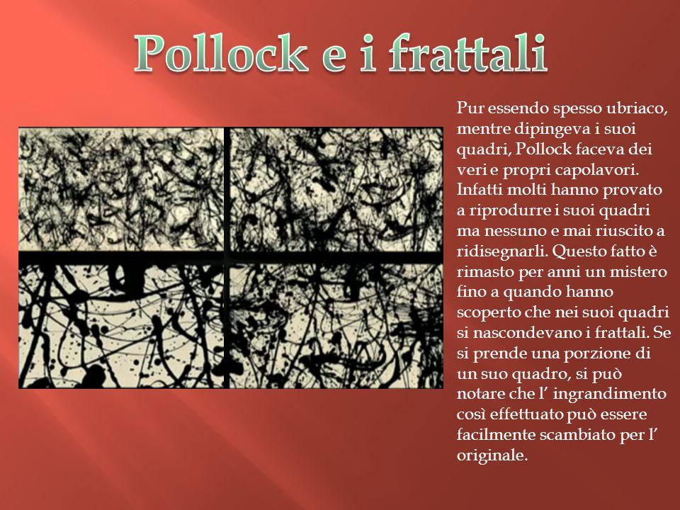 Pollock e i frattali