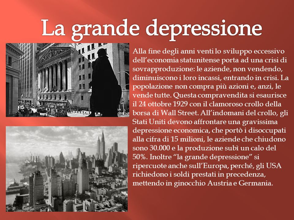 La grande depressione