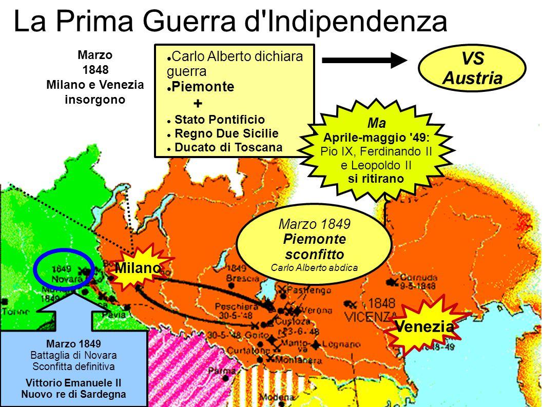 La Prima Guerra d Indipendenza