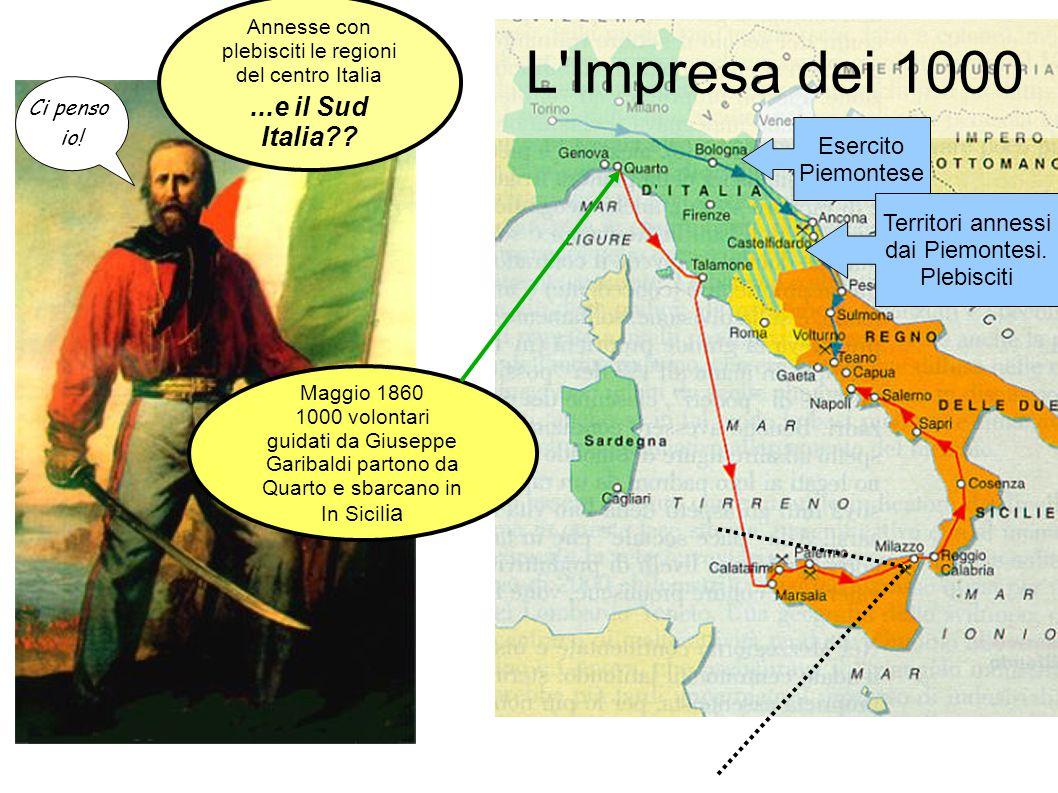 L Impresa dei 1000 ...e il Sud Italia Esercito Piemontese