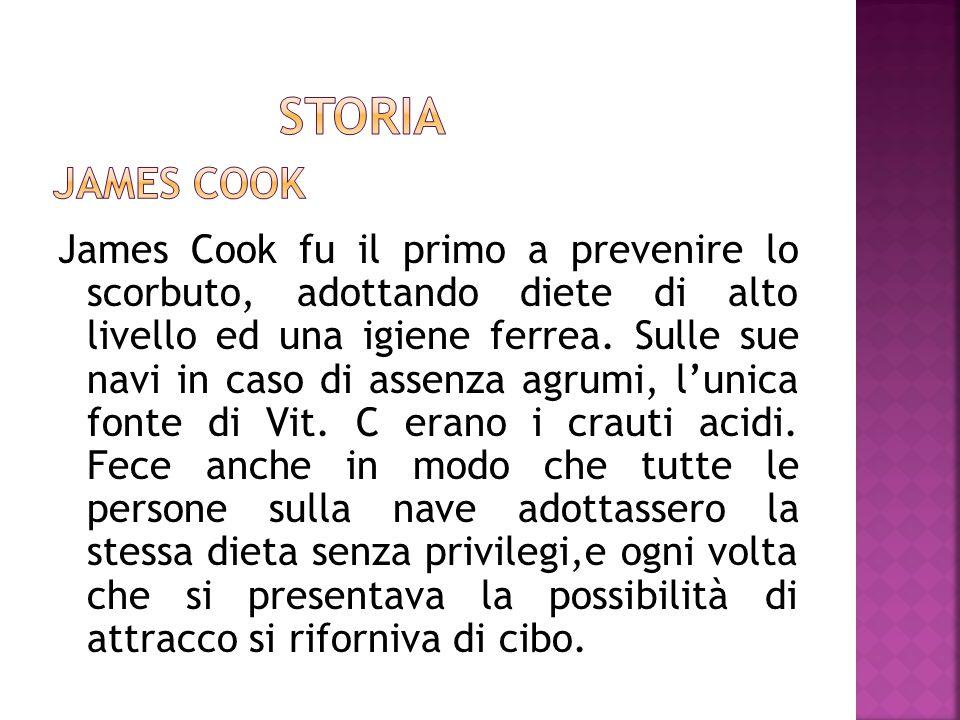 Storia James Cook.