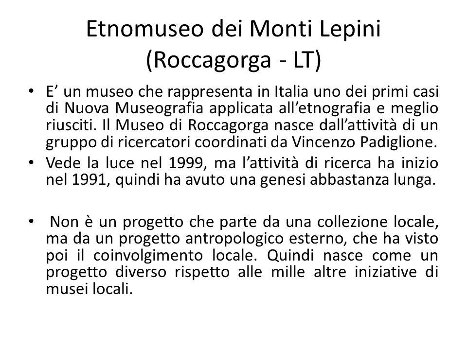 Etnomuseo dei Monti Lepini (Roccagorga - LT)