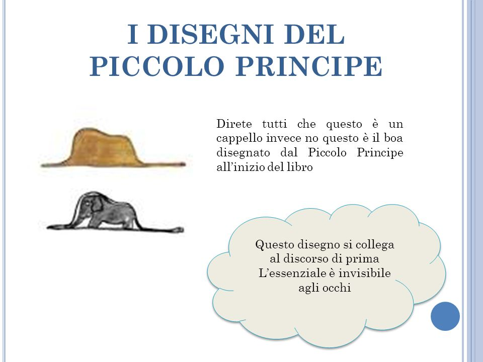 I DISEGNI DEL PICCOLO PRINCIPE