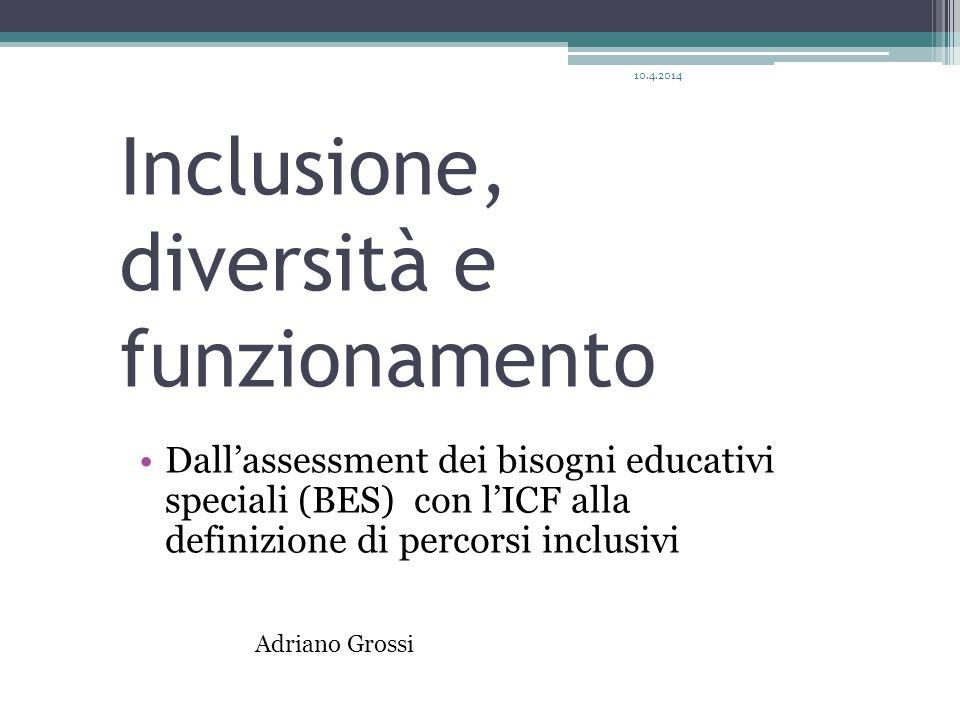 Inclusione, diversità e funzionamento