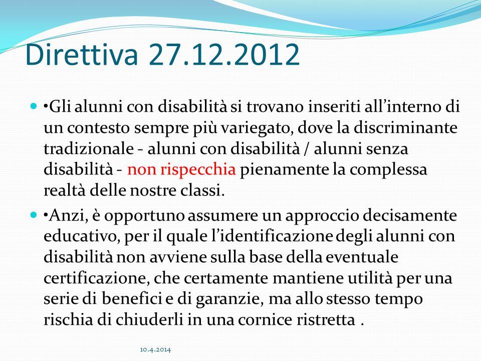 Direttiva 27.12.2012