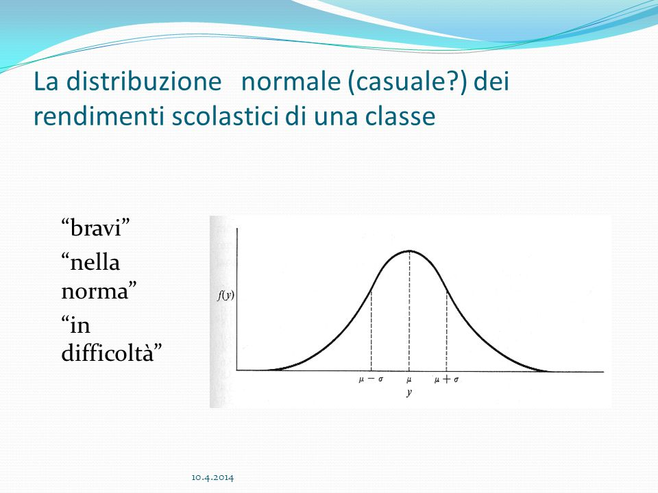 La distribuzione normale (casuale