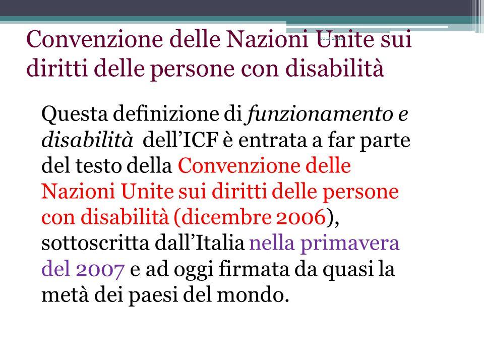 Convenzione delle Nazioni Unite sui diritti delle persone con disabilità
