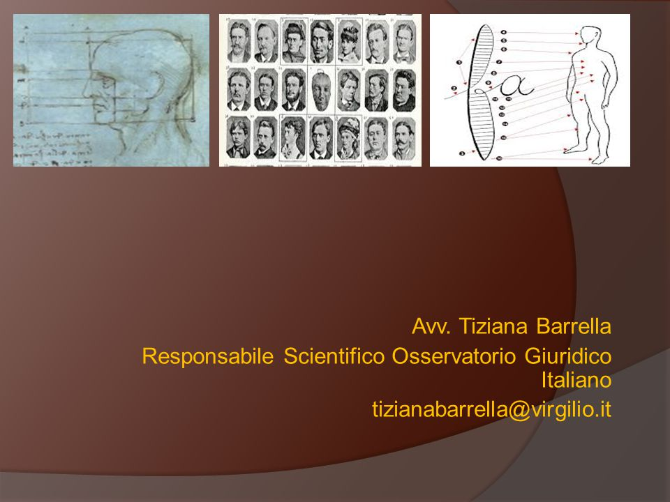 Avv. Tiziana Barrella Responsabile Scientifico Osservatorio Giuridico Italiano.