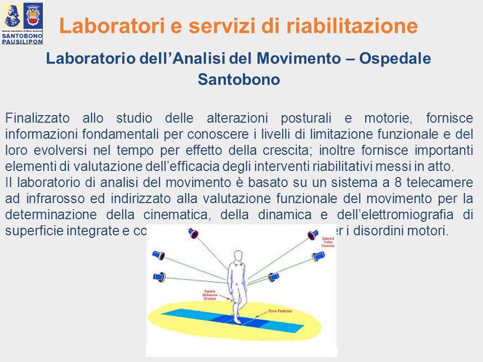 Laboratori e servizi di riabilitazione