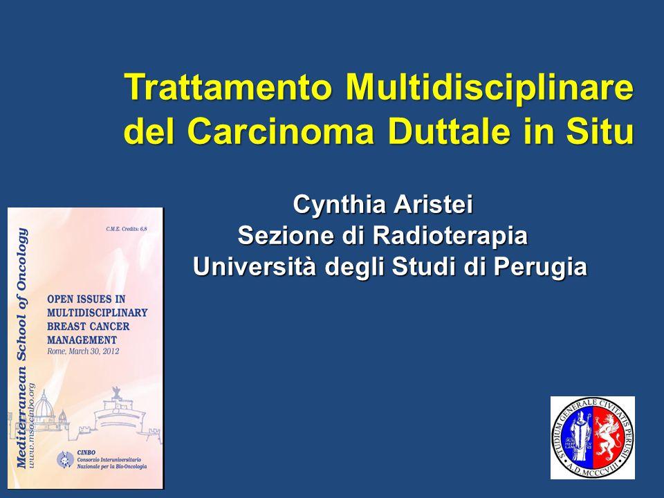 Trattamento Multidisciplinare del Carcinoma Duttale in Situ