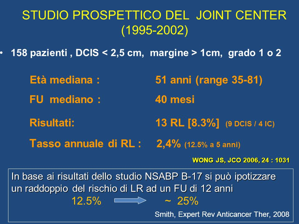 STUDIO PROSPETTICO DEL JOINT CENTER (1995-2002)