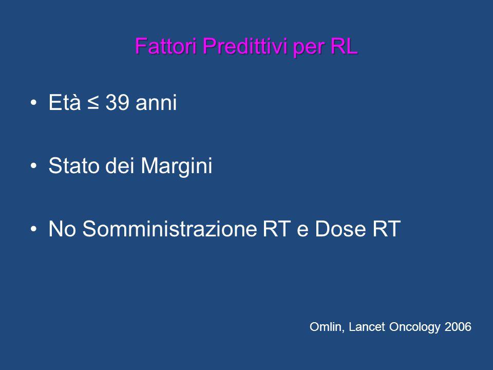 Fattori Predittivi per RL