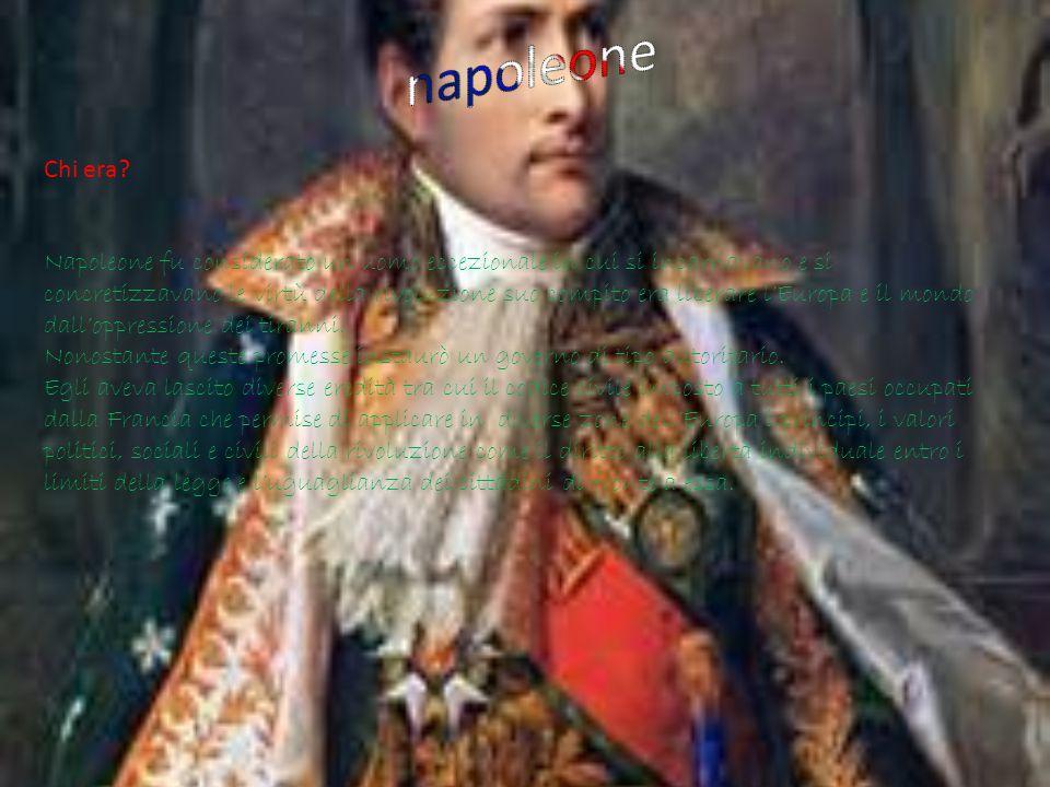 napoleone Chi era