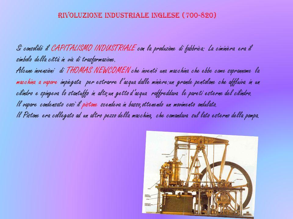 Rivoluzione industriale inglese (700-820)