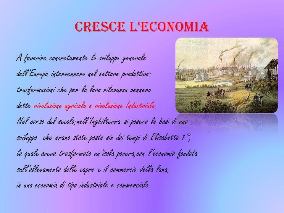 CRESCE L'ECONOMIA