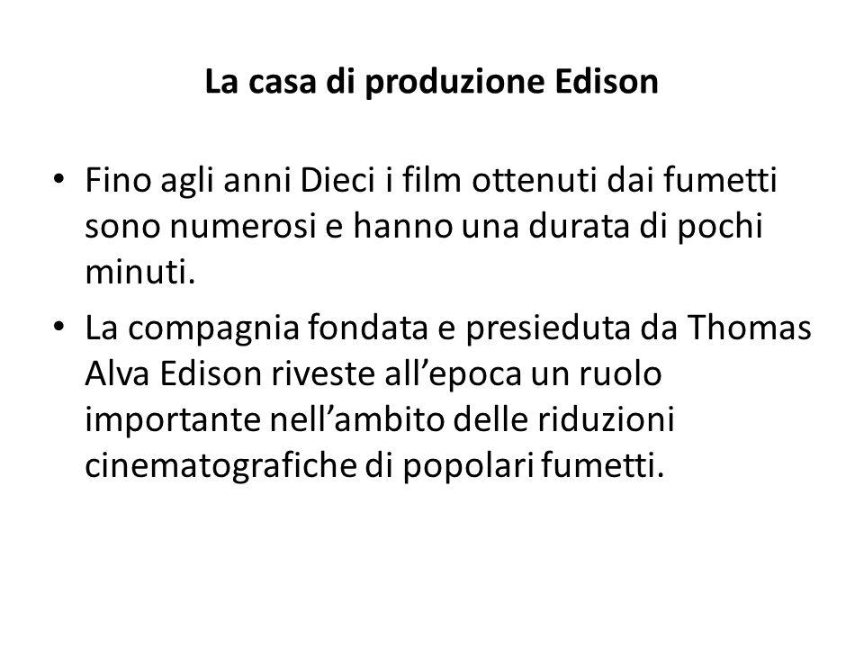 La casa di produzione Edison