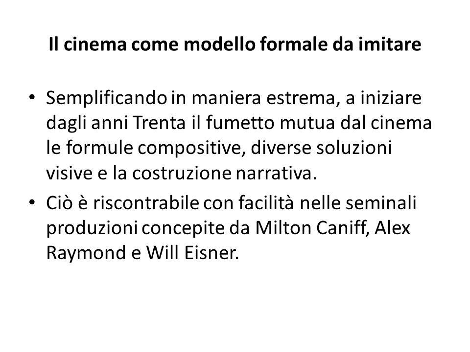 Il cinema come modello formale da imitare