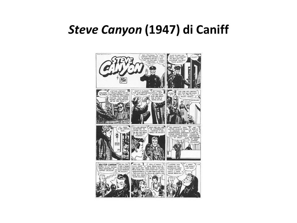 Steve Canyon (1947) di Caniff