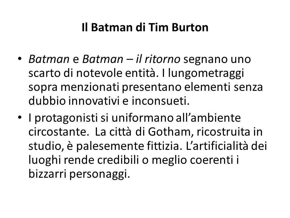 Il Batman di Tim Burton
