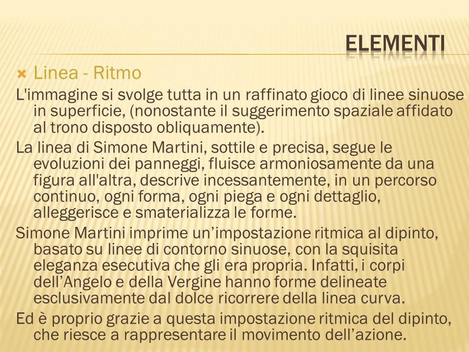 Elementi Linea - Ritmo.