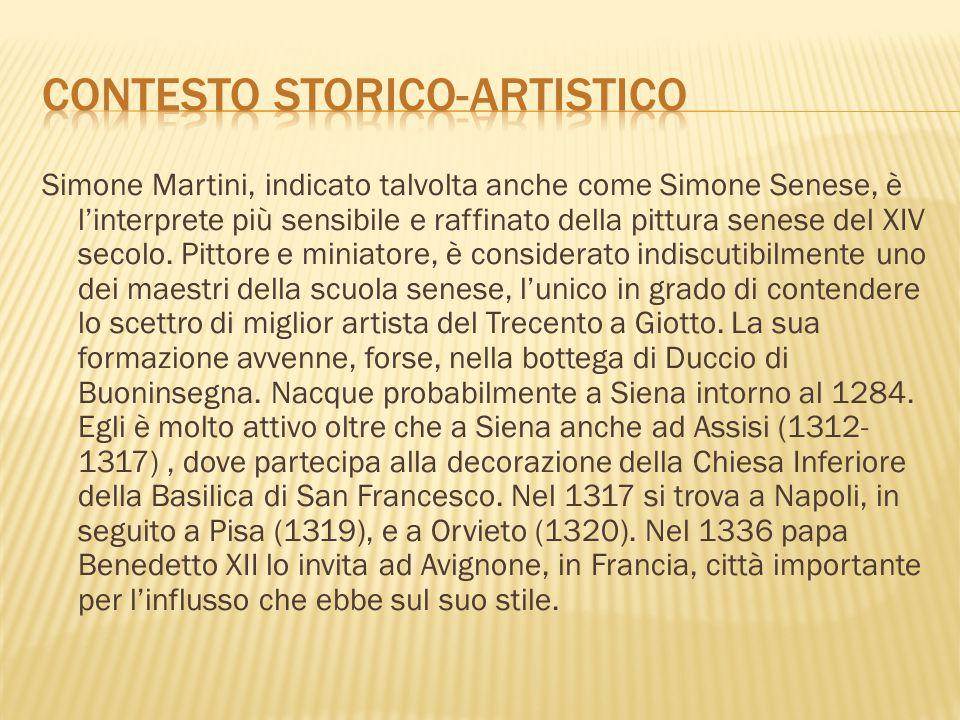 CONTESTO STORICO-ARTISTICO