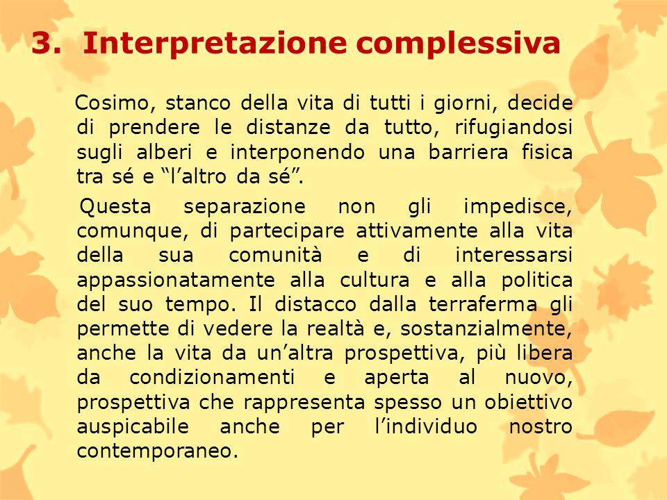 3. Interpretazione complessiva