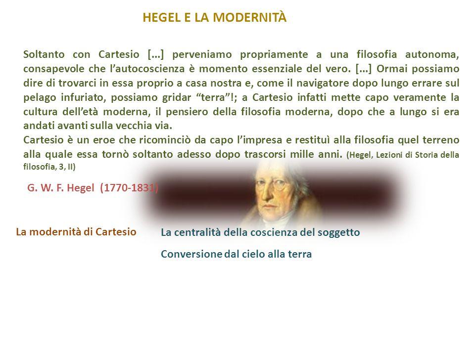 Hegel e la modernità