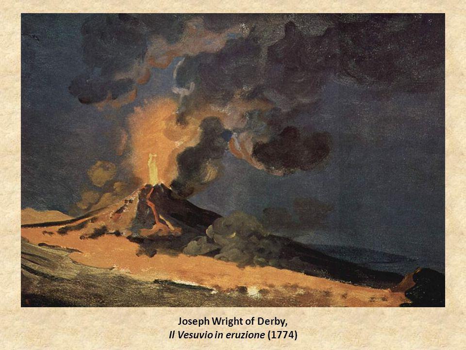 Joseph Wright of Derby, Il Vesuvio in eruzione (1774)