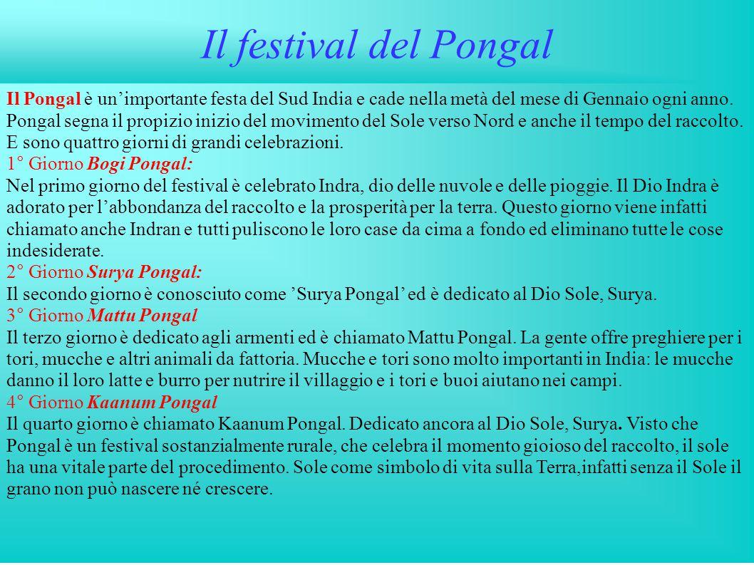 Il festival del Pongal