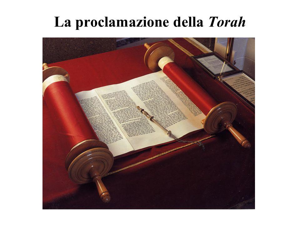 La proclamazione della Torah