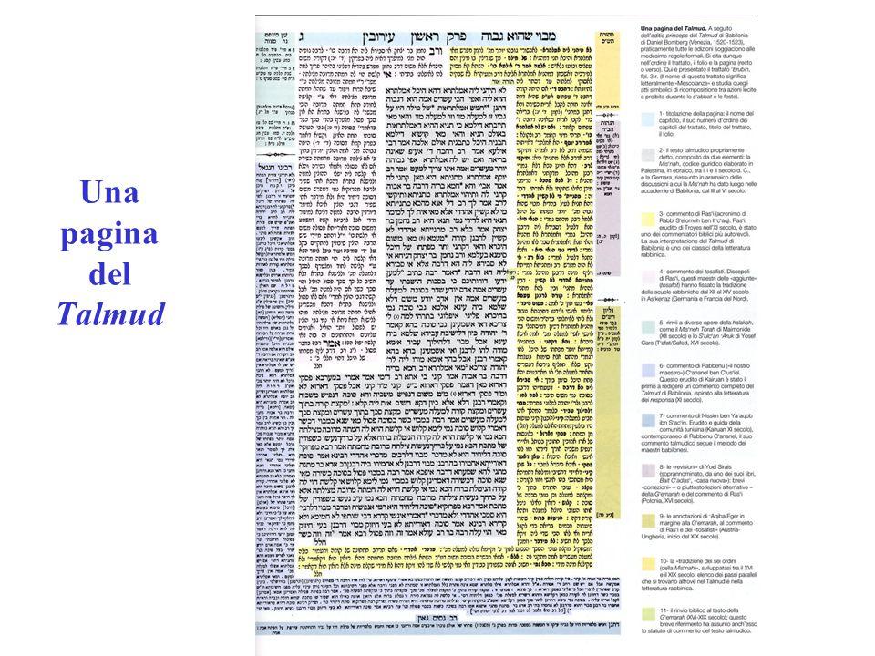 Una pagina del Talmud