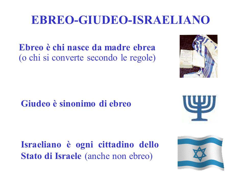 EBREO-GIUDEO-ISRAELIANO